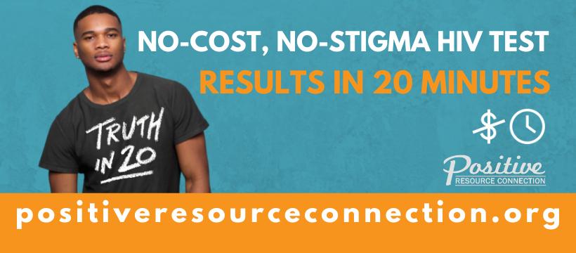 No-cost, no-stigma HIV test